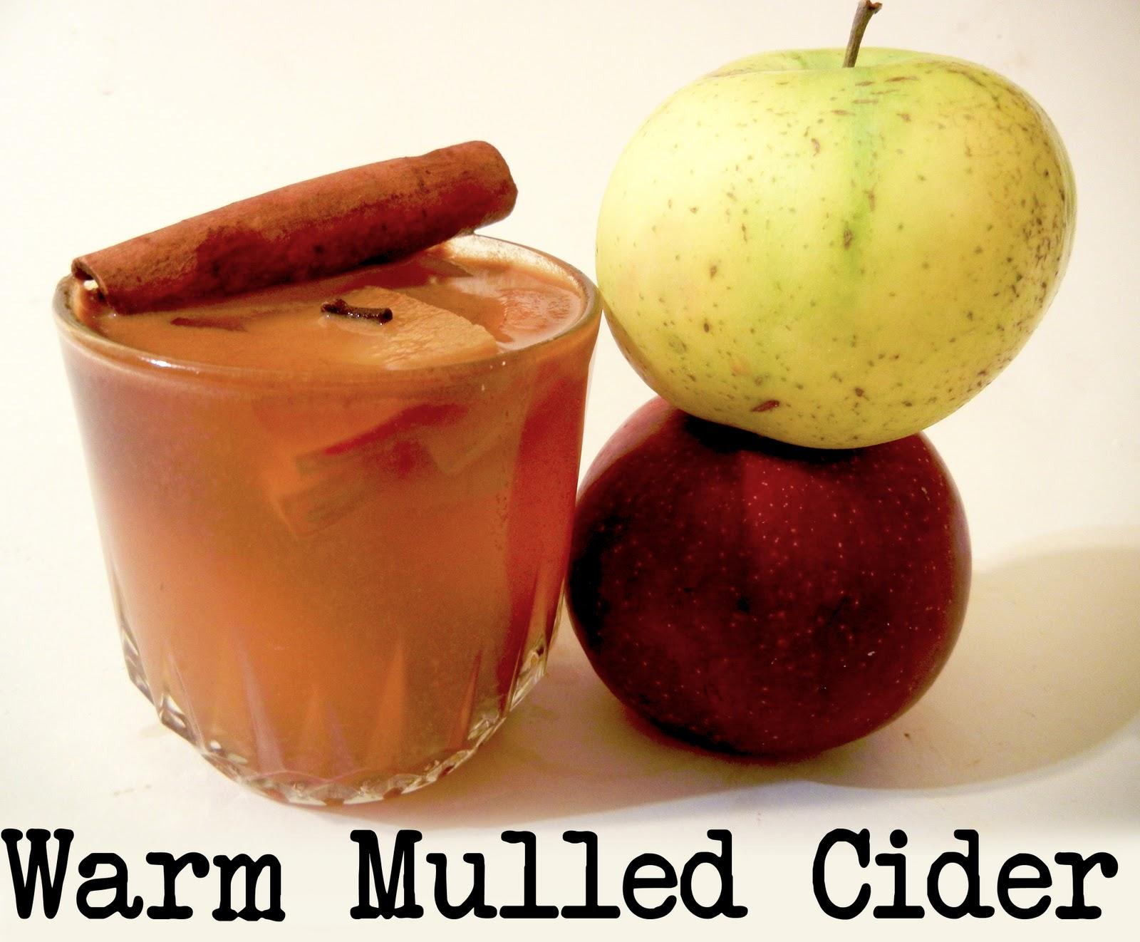 Derek's Kitchen: Mulled Cider