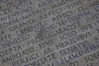 Escrito romano - Derecho romano