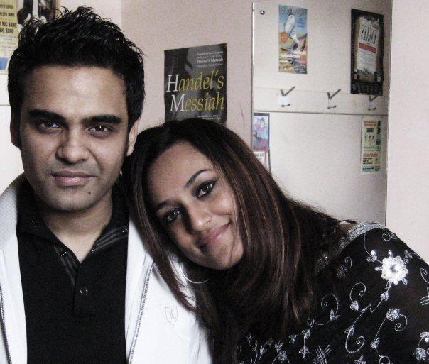 Habib Wahid And His Wife Rehan
