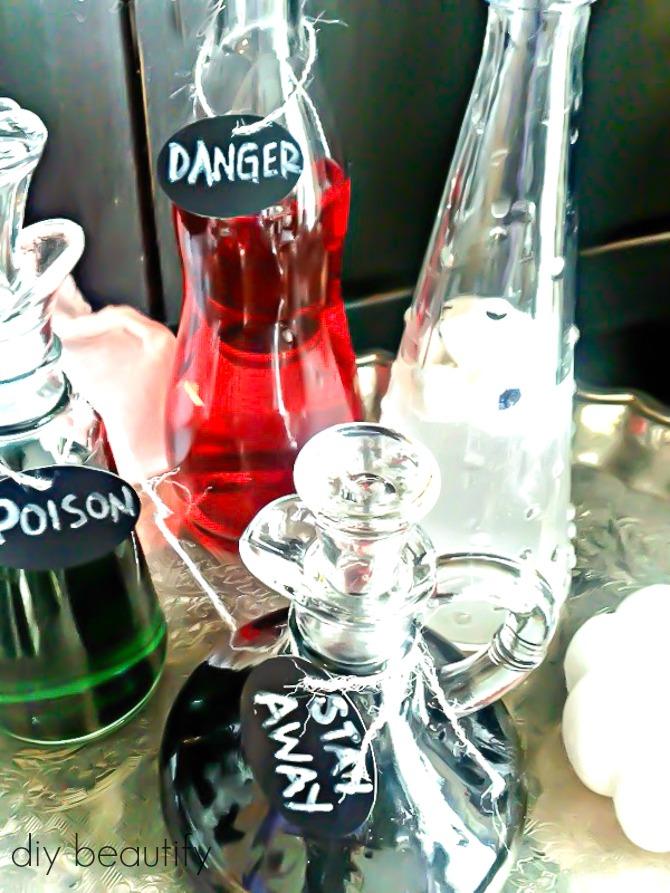 spooky diy potions