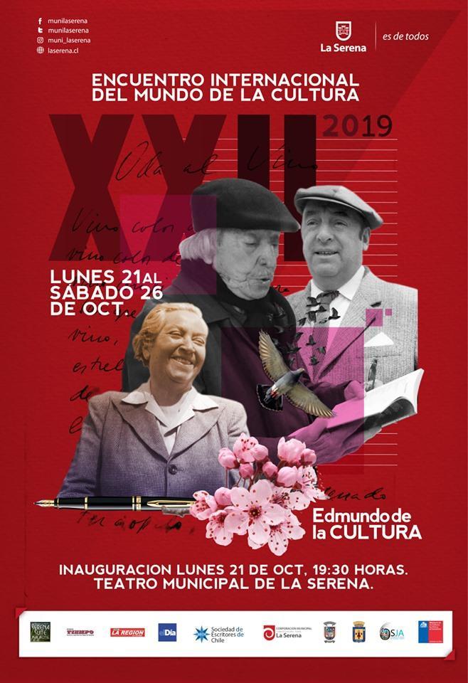 XXII Encuentro Internacional del Mundo de la Cultura 2019, La Serena - Chile.