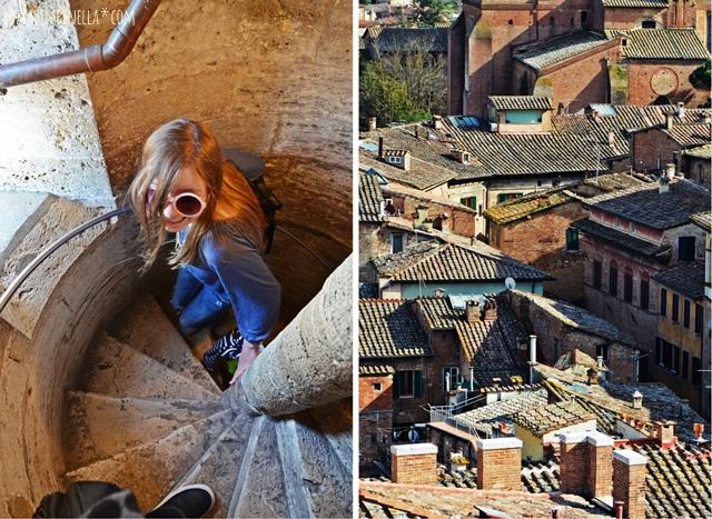 travel toskana |  sienas beste aussicht - panorama dal facciatone | luzia pimpinella