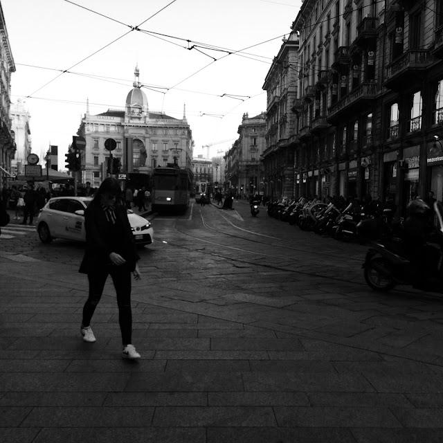 Milano Black & White http://elisiroflife.blogspot.com
