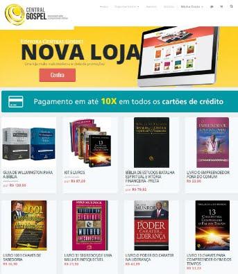 Imperdível: Central Gospel lança sua nova loja virtual; confira!