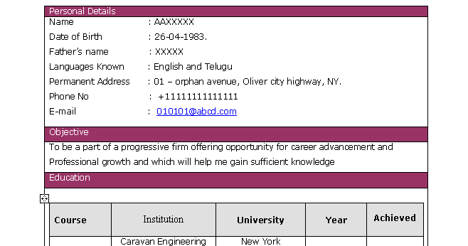 fresh jobs and free resume samples for jobs  software