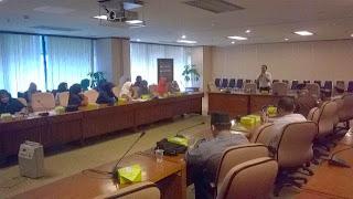 Informasi kesehatan dari susu haji sehat kepada calon jama'ah haji KBIH BAPEKIS BRI Jakarta