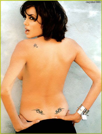 angelina jolie tattoos. Angelina Jolie Tattoos Wanted