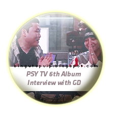 PSY TV 6th Album Interview with GD