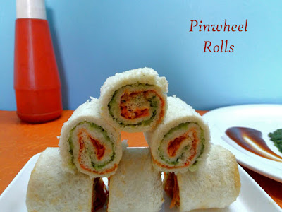 Pinwheel Rolls -  Enriched With Nutrients