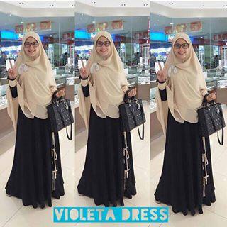 Rumah Hijab Savana Violeta Set Jasmine Set Ala Lyra Virna