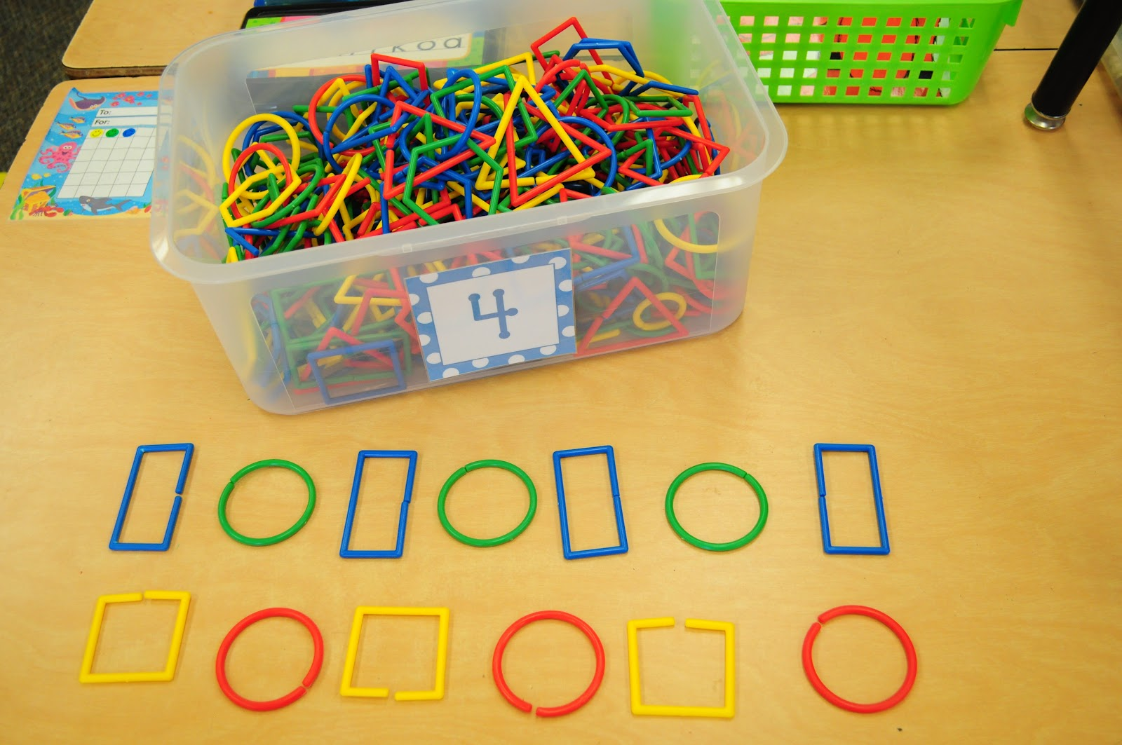 Worksheet Pattern Activities For Kindergarten mrs riccas kindergarten patterns math stations