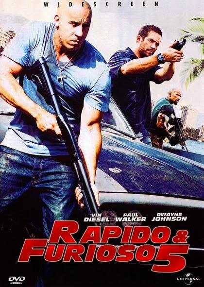 Rapido y Furioso 5  [DVDRip] [Latino] [2011]
