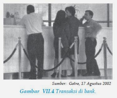 transaksi di bank