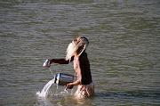 Un satisfecho renunciante hindú (India)