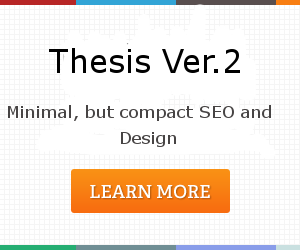 Detail Thesis Blogger Template v2