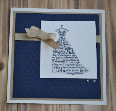 Glückwunschkarte Hochzeit 3