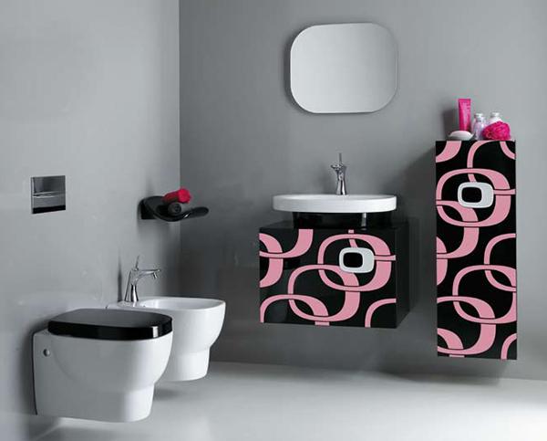 Sweet Pink bathrooms - azee