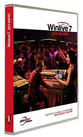 WinLive Pro-Pro Synth 7.0.10 poster box cover
