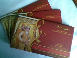 Undangan Pernikahan Full Colour (enha-HC003)