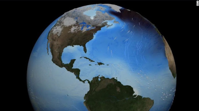 guerra en el atlántico entre enfriamiento y calentamiento global