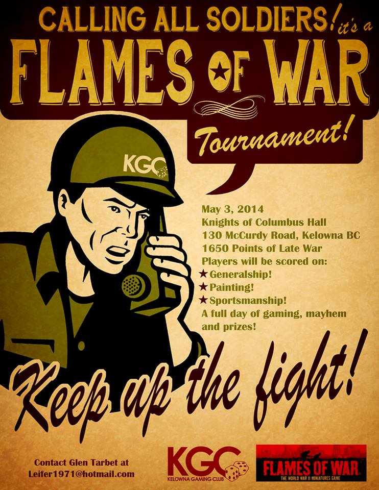 Kelowna Flames of War tournament