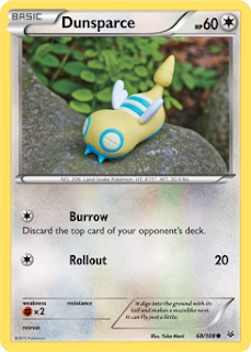 Dunsparce Roaring Skies Pokemon Card