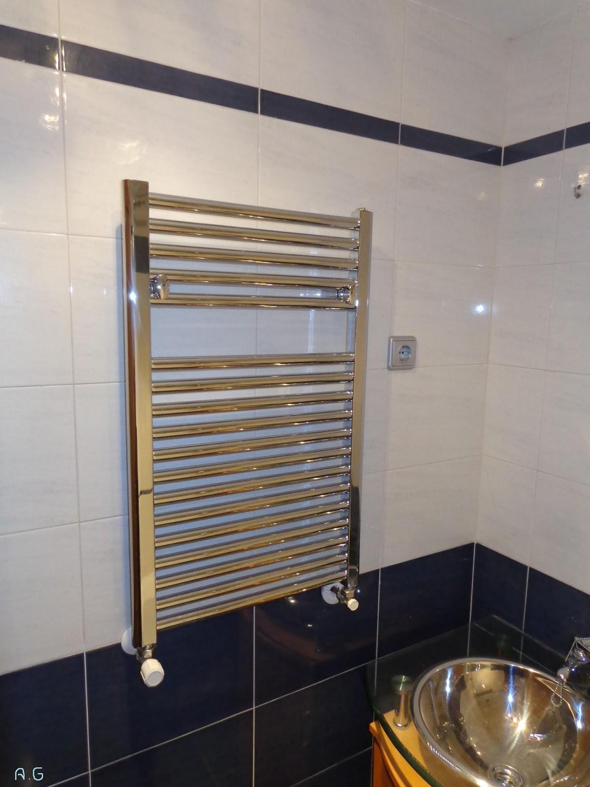Baldosassa cambio de ba era por plato de ducha - Cambiar radiador por toallero ...