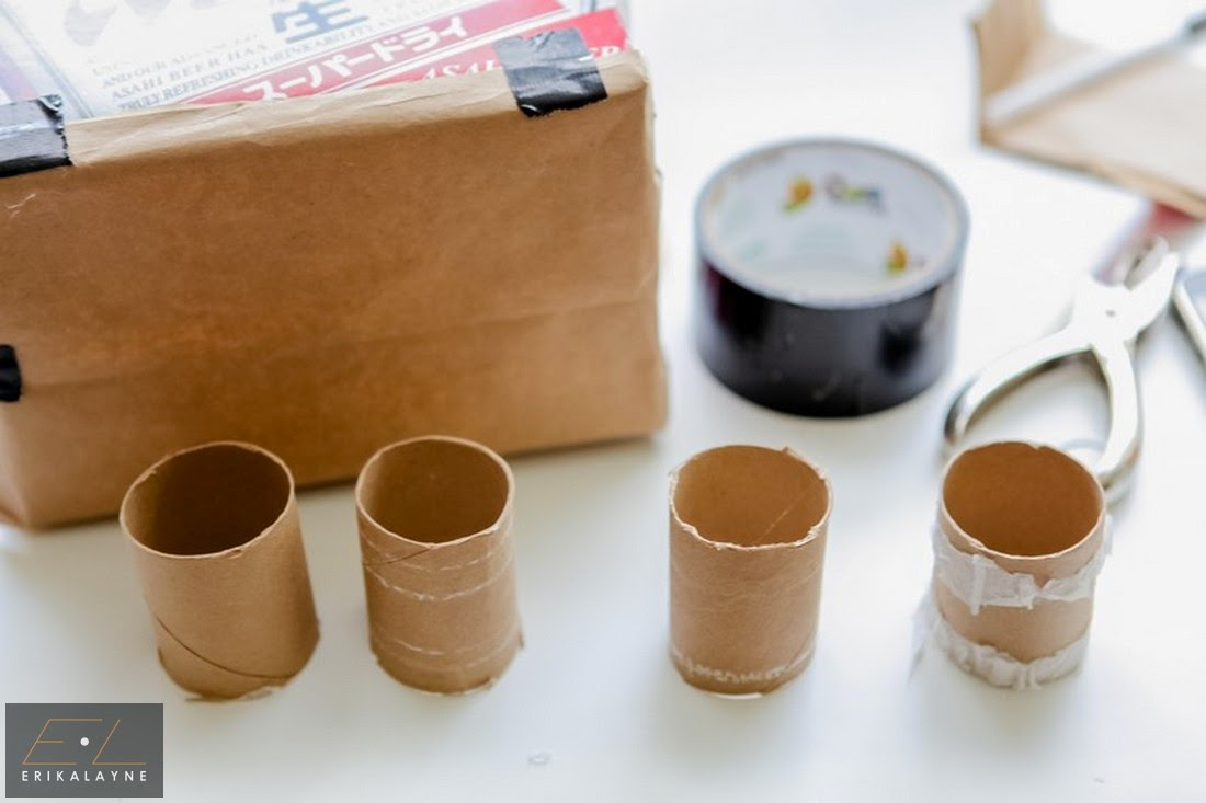how to make a paper tube with a curve