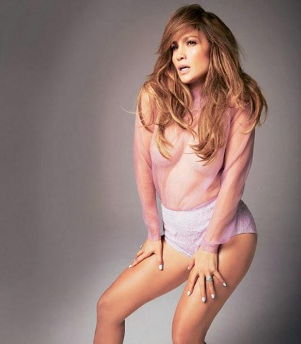 Jennifer López en Glamour Magazine