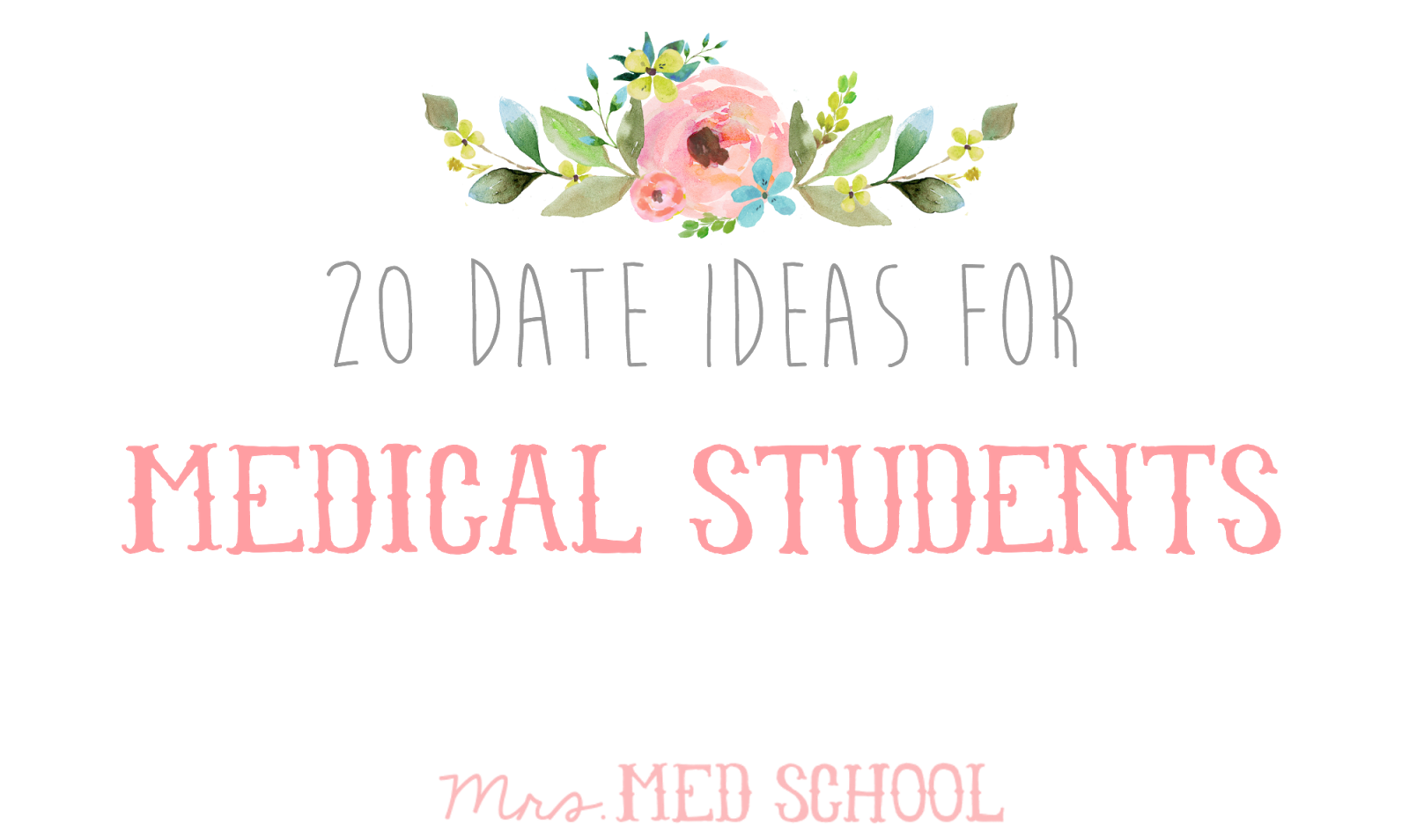 dating medical students And of course the answer is no, although anyone who marries a medical student has to realize that they are taking on a whole lot of student loans and a very time-demanding career – dating or marrying you is a big commitment for them, too.