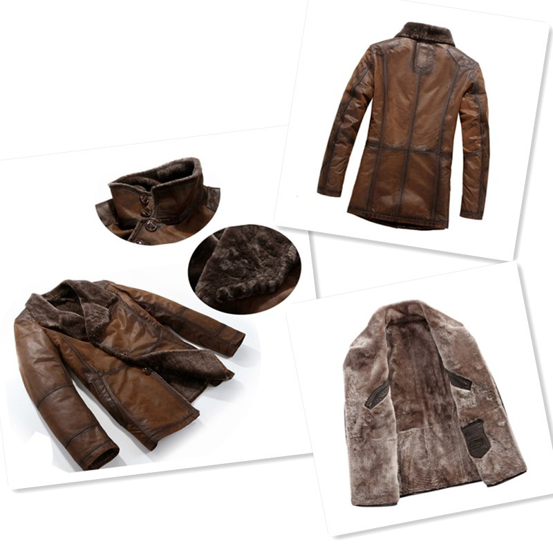 Sheepskin Jacket: Mens Shearling Fur Coats for Australia