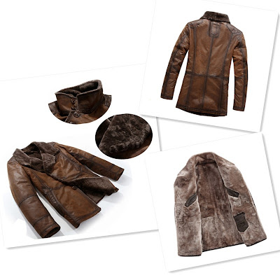 Mens Shearling Coat Australia