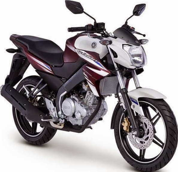 NEW VIXION 2015 BROWN-WHITE