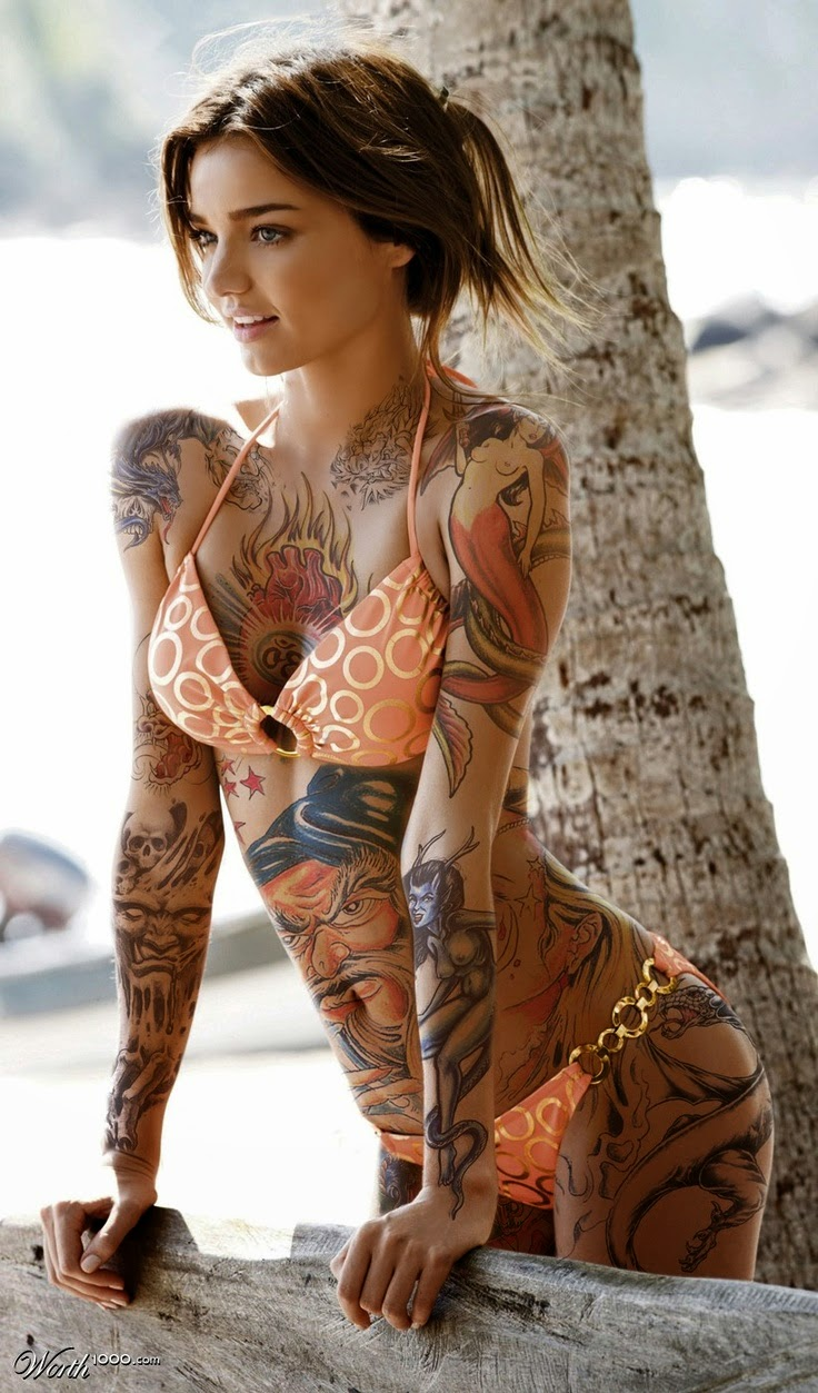 Tattoo vs Bikini