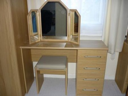 Wooden dressing tables designs.  An Interior Design