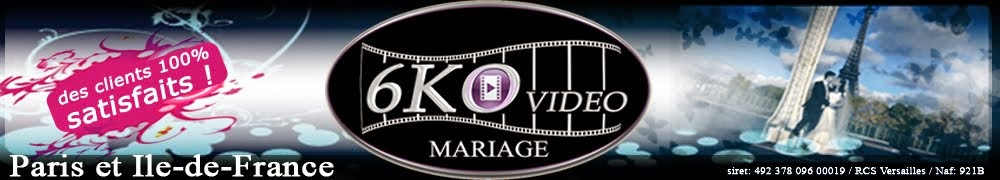 video, cameraman, mariage, Paris, Yvelines, IDF - 6kovideomariage