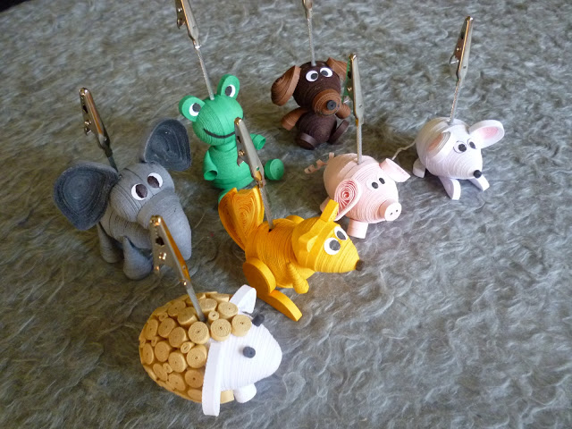 3d animal quilling patterns