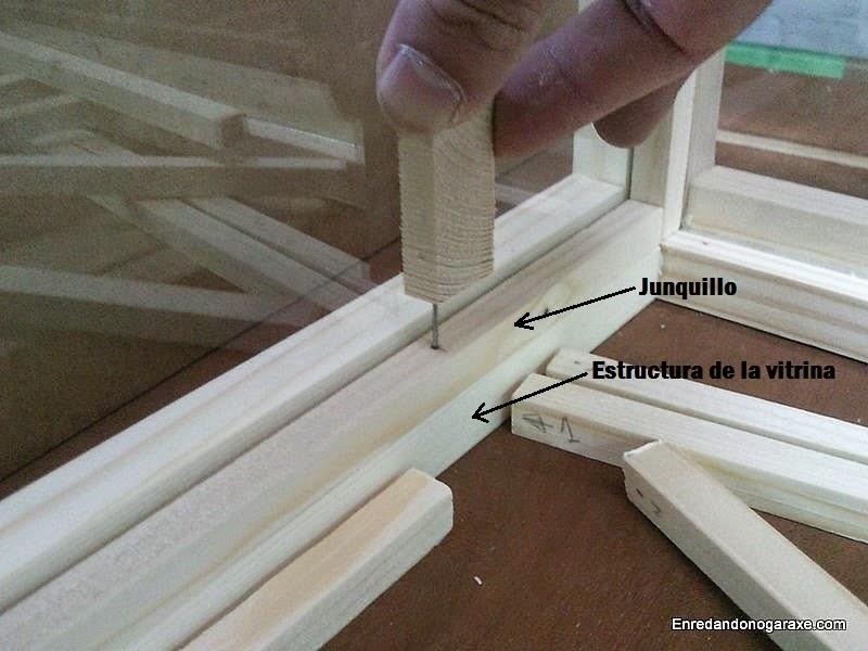 Marcar para taladrar los agujeros guía. www.enredandonogaraxe.com