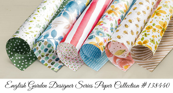 Photo image of Stampin' Up! English Garden Designer Series Paper Collection