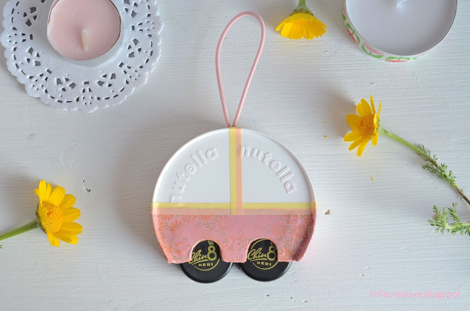 riciclo creativo: mini caravan