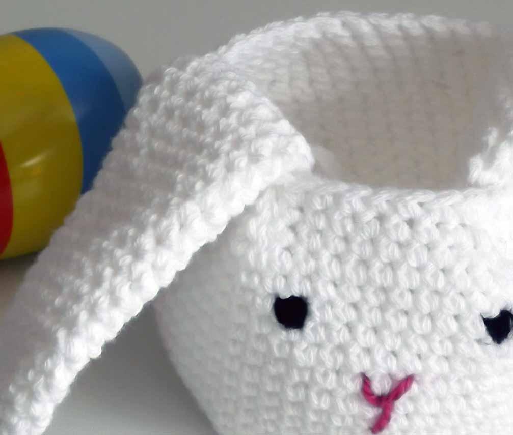 Mavivi tejiendo: Conejo de Pascua