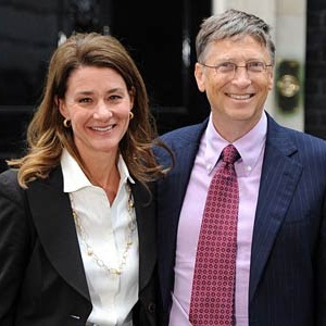 Bill Gates & Melinda Gates