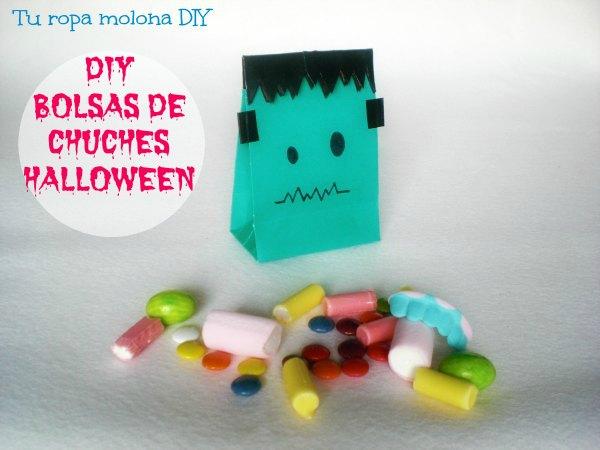 DIY bolsas para chuches Halloween