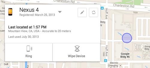 Google offrirà entro la fine dell'estate un nuovo servizio di ricerca e protezione di dati personali su smartphone android smarriti