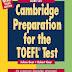 Download Cambridge Preparation for the TOEFL Test (Third Edition) Audio & PDF. COMPLETO: Com página 575 faltante!