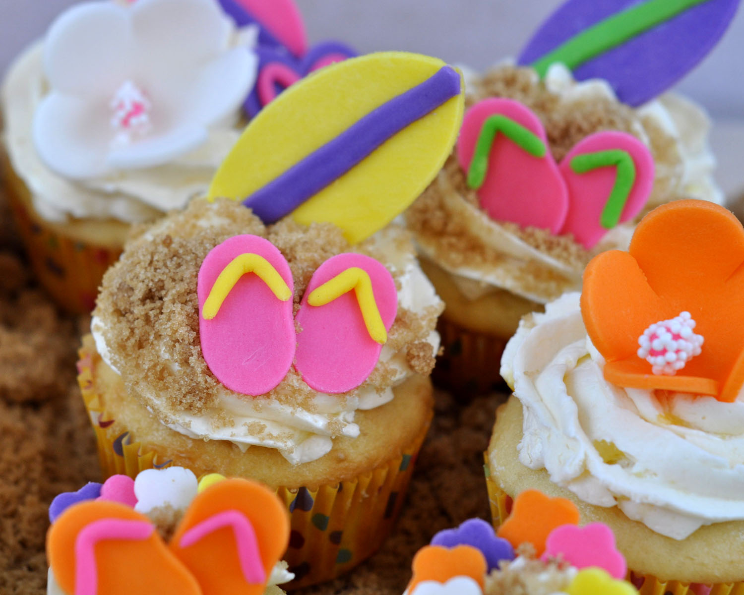 Beki Cook s Cake Blog Cool Summer Cupcake Ideas