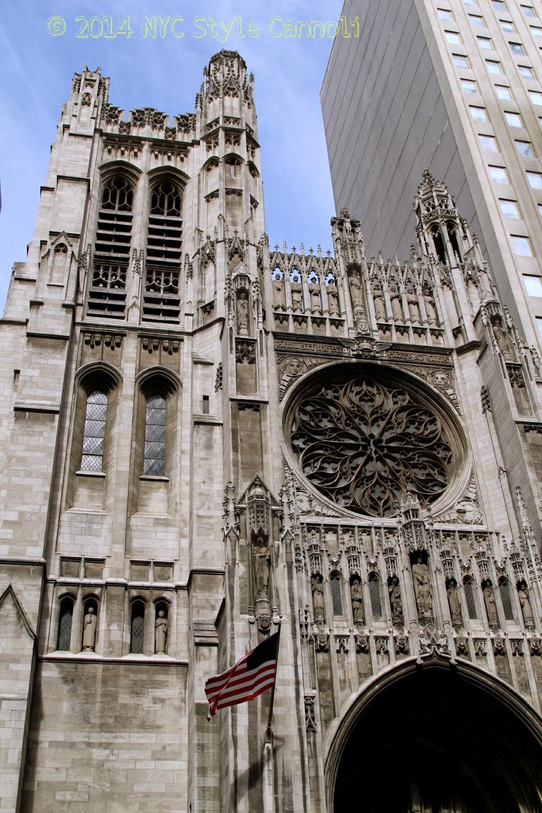 st thomas church on 5th avenue nyc style a little cannoli