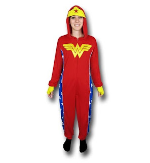 Click here to purchase your hooded Wonder Woman union suit at SuperHeroStuff!