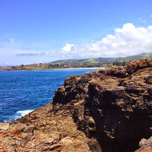 Kiama NSW Australia - The Kiama Blowhole Lookout