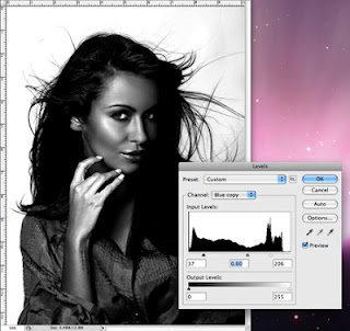 how to cut out curly hair in photoshop